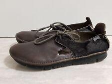 Camper real fell cuero Lagenlook 38 extralight confortable mocasín zapatos Shoes