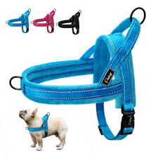 Step-in Soft Plush Dog Harness Front Lead Dog Vest for Small Medium Large Dogs