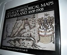 cartography Hammond-Harwood House Atlas Of Historical Maps Of Maryland,1608-1908