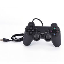 USB Dual Shock PC Computer Wired Gamepad Game Controller Joystick Rocker BLBD