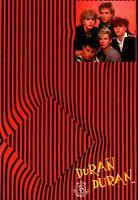 DURAN DURAN / SIMON Le BON 1981 UK TOUR CONCERT PROGRAM BOOK BOOKLET / EX 2 NMT