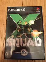X SQUAD - PS2 - COMPLETE W/MANUAL - FREE S/H (N)