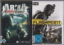 Operation FLASHPOINT DRAGON RISING + arma ARMED ASSAULT SHOOTER PC militare