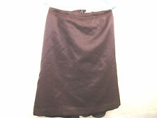 Nina Ricci Size 38 8 Burgundy Cocktail French Designer Skirt