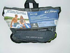 Onyx M-16 Belt Pack Manuel Inflatable Life Jacket Belt Pack 130900-701-004-19