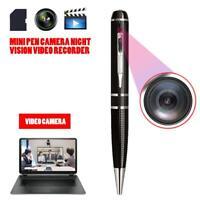 Mini Spy Pen Camera Night Vision Video Recorder Noise Reduction Micro Camcorder