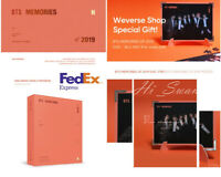 [BTS] - BTS MEMORIES OF 2019 DVD With Weply Gift Expedite Shipping OFFICIAL MD