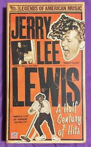 Jerry Lee Lewis: A Half Century of Hits [3 CD Box Set - 2006] TIME LIFE