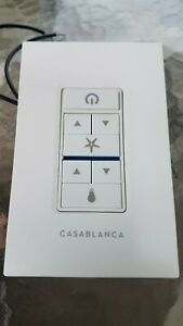 Casablanca 99195 Universal Wall Control for Light & Fan - White