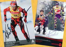 Ole Einar Björndalen-Martin Fourcade (5) - 2 Super AK pictures + Ski AK FREE