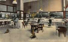 Oakland California Hotel Oakland Barber Shop Vintage Postcard AA24013