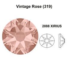 288 Swarovski 2088 30ss crystal wholesale flatback rhinestones ss30 VINTAGE ROSE