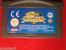HARRY POTTER WORLD CUP QUIDDITCH GAME BOY ADVANCE COUPE DU MONDE QUIDDITCH GBA