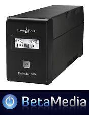PowerShield Defender 650VA / 390W Line Interactive UPS w AVR - Australian Outlet