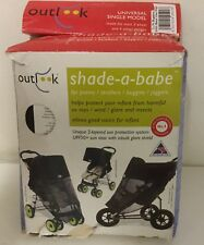 Outlook Shade-A-Babe Sunshade Single Shade A Babe Black Pram Bugaboo