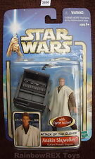 "Star Wars 2002 ANAKIN SKYWALKER Outland Peasant Disguise SWS 3.75""  Figure MOC!"