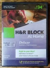 H&R Block at Home 2009 Deluxe Tax Software