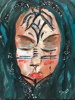 original Painting A Deeper Breath