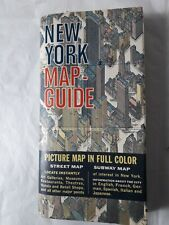 More details for vintage map of new york herman bollman 1964 birds eye view