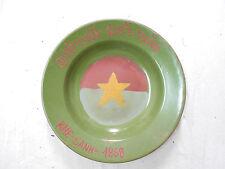 Vietnam War - VC/NVA Dish - VIETCONG DISH - KHE SANH 1968 - RESOLVE TO WIN