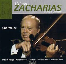"HELMUT ZACHARIAS & ORCH. ""Charmaine"" Violin CD NEU & OVP 14 Tracks Album"
