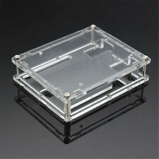 1X Clear Cover Enclosure Transparent Acrylic Box Case Kit for Arduino UNO WC