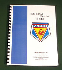Yaesu FT-ONE Technical manual -  Premium Card Stock Covers & 32 LB Paper!