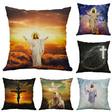 Believer gifts God Cross Jesus pillow case Cushion Cover Sofa For Home Decor