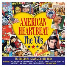 American Heartbeat - The 60s - 75 Original Classics 3CD NEW/SEALED