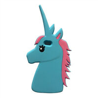 3D Mágico Unicornio Caballo caso tapa con dibujos animados Para iPhone