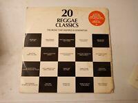 20 Reggae Classics Volume 2 - Various Artists - Vinyl LP 1984