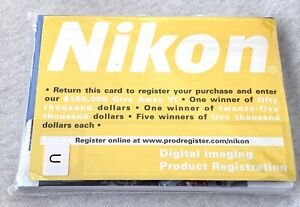 New Authentic User Manual Pack for Nikon Coolpix S52/S52c Digital Camera Sealed!