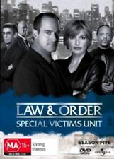 LAW AND ORDER: SPECIAL VICTIMS UNIT - SEASON 5  -  DVD - UK Compatible