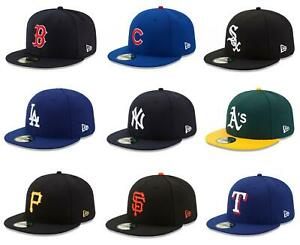 NEW ERA 59FIFTY FITTED CAP. AUTHENTIC MLB ON FIELD CAP. CHOICE OF TEAMS
