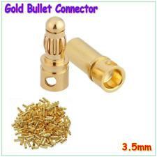 3.5mm 20 Pcs/lot Gold Bullet Connector Plug Male&Female For ESC Motor&RC Battery