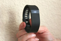 Fitbit Charge Wireless Activity Wristband - Large, Black