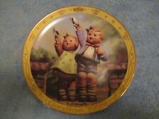 """Mj Hummel Millennium Collector Plate """"Auf Wiedersehen"""""""