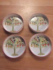 Villeroy Boch Bon Appetit Fruit Plates/bowls Set Of 4