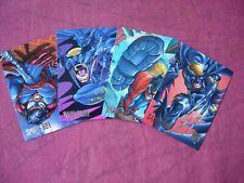 DC vs Marvel: X4 set Amalgam Preview Cards Fleer/Skybox 1995 VFN