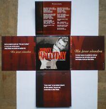 Johnny HALLYDAY CD promo 1 titre pochette ouvrante Un jour viendra