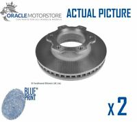 2 x NEW BLUE PRINT FRONT BRAKE DISCS SET BRAKING DISCS PAIR OE QUALITY ADZ94336