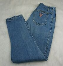 GUESS Vintage Mom High Rise Jeans Button Fly Size 31 High Waisted