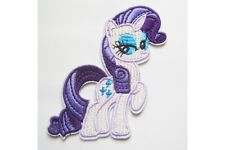 My Little Pony - Rarity Embroidered Iron On / Sew On Patch