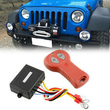 12V Wireless Winch Remote Control Kit Fit For Jeep ATV SUV Offroad Waterproof
