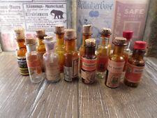 +ANTIK+ alte Flaschen / Medizin / Apotheke / Homöopathie / Schwabe um 1900
