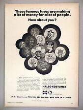 Halco Halloween Costume PRINT AD - 1971 ~ Tom & Jerry, Lone Ranger costumes