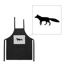Tablier noir de cuisine barbecue chien de chasse 2 imprimé