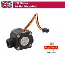 "YF-S201 Water Flow Sensor G 1/2"" Fluid Flowmeter Switch Counter 1-30L/min Meter"