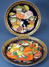 Rosenthal Zierteller 16,5 cm  ' Aladin und die Wunderlampe III + VI ' #13816