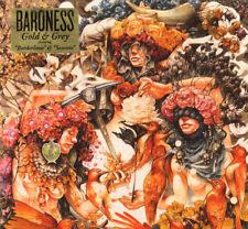 Baroness ‎- Gold & Grey CD - SEALED Digipak - 2019 Sludge Metal Album